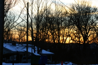 sunset january 29